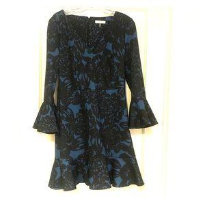 Trina Turk fit and flare dress